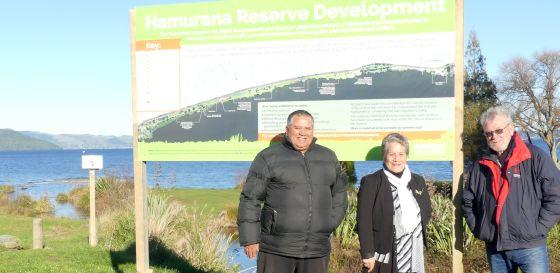Hamurana reserve development project partners