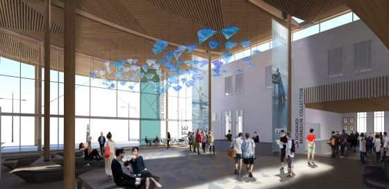 Architect impression of Sir Howard Morrison Performing Arts Centre