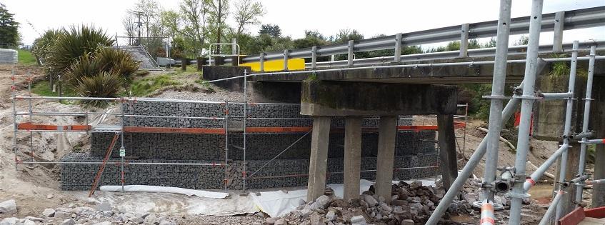 Rerewhakaaitu bridge 3 repairs