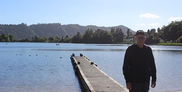 Lake Okareka Community Association chairperson Martyn Norrie