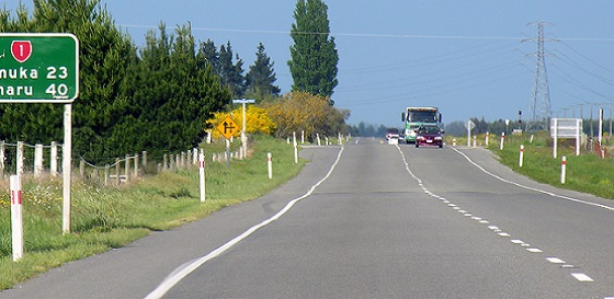 Road to Timaru