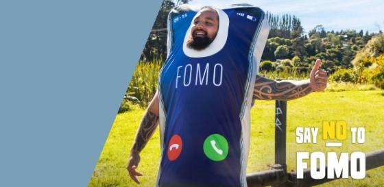 Say no to FOMO campaign