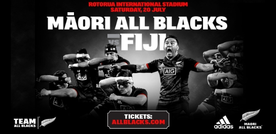 Maori All Blacks v Figi graphic