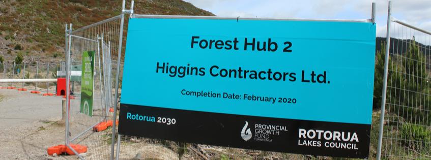 Forest hub Rotorua