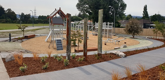 New Huia Lyons playground