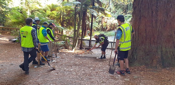Trails Trust work