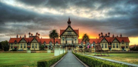 Rotorua Museum - Lizzie Marvelly