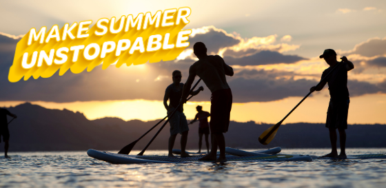 Make summer unstoppable