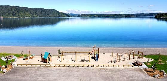 Matahi Spit reserve playground
