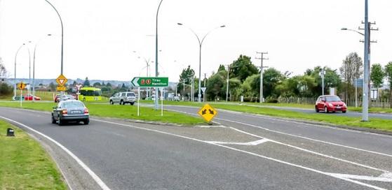 Ngongotaha roundabout