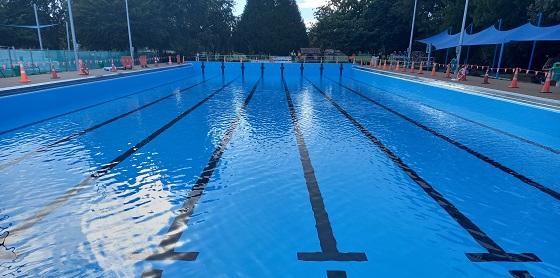50m pool refilling