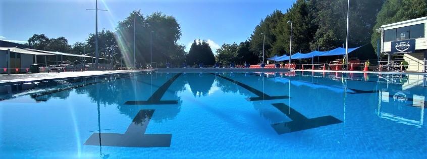 Finished Aquatic Centre 50m pool
