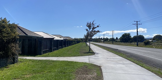 Vaughan Road shared path complete