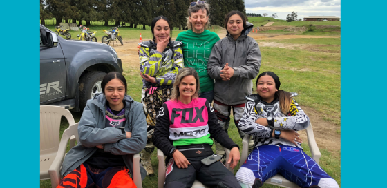Youth Encounter Trust -  Dirt Bike Encounter Therapy Course 2020 (from participants from Awhina Activity Centre).
