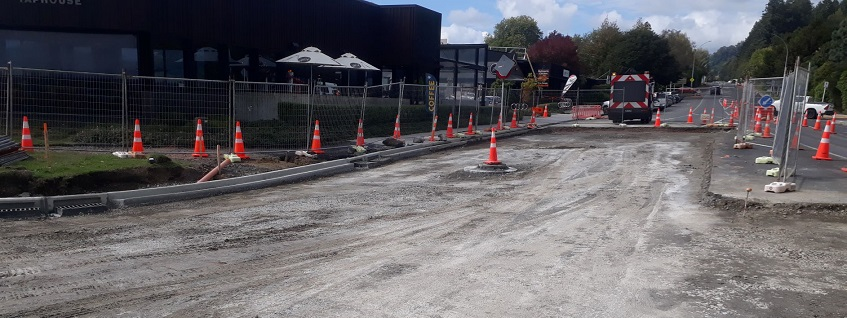 Ready for surfacing outside Good Eastern Taphouse in Rotorua