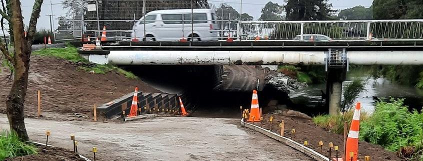 Puarenga Bridge underpass