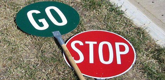 Stop go image