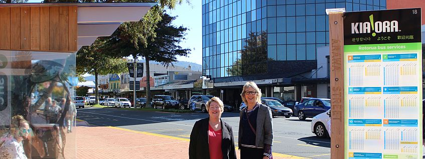 Rotorua Lakes Council councillors Janet Wepa and Karen Hunt