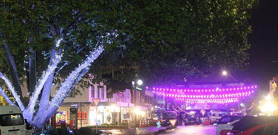 Night market light up