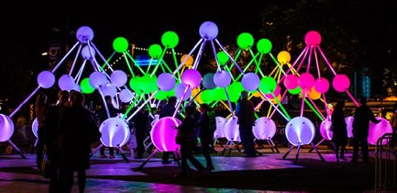 Affinity light installation