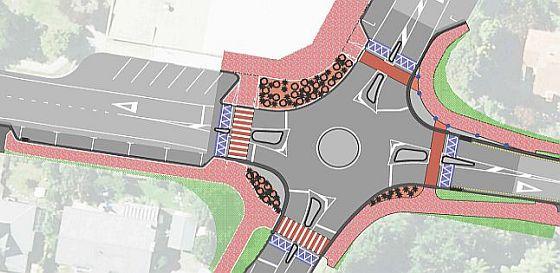 Springfield intersection upgrade