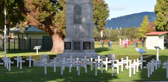 Field of Remembrance Rotorua