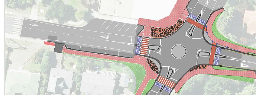 Springfield intersection upgrade